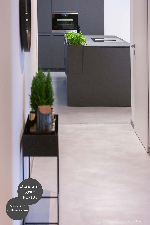 Futado Wand und Bodenbeschichtung im Küchenbereich Diamantgrau FU-103