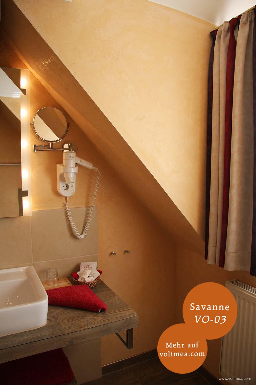 Volimea Wandbeschichtung im Badezimmer in Savanne VO-03